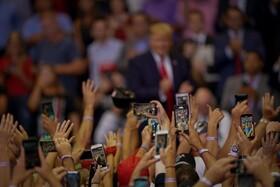 (تصاویر) گردهمایی تبلیغاتی دونالد ترامپ در سینسیناتی آمریکا برای انتخابات ریاست جمهوری آینده