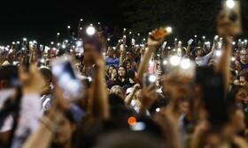 (تصاویر) مراسم یابود کشته شدگان در الپاسوی آمریکا