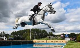 (تصاویر) مسابقه اسب سواری در انگلیس