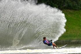 (تصاویر) مسابقات اسکی روی آب در لیما پرو