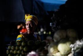 (تصاویر) بازار میوه در آبیجان در ساحل عاج
