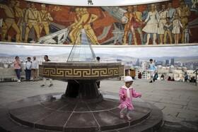 (تصاویر) اولانباتور در مغولستان