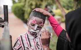 (تصاویر) پارک بازی کودکان در ام دورمان در سودان
