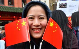 (تصاویر) تظاهرات به نفع چین در هنگ کنگ