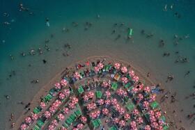 (تصاویر) ساحل اولدنیز در ترکیه