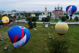 (تصاویر) فستیوال نمایش هوایی در مسکو روسیه