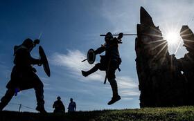 (تصاویر) فستیوال وایکینگ ها در انگلیس
