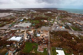 (تصاویر) نمایی از میزان تخریب توفان دوریان در باهاماس در آمریکای مرکزی