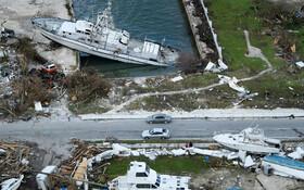 (تصاویر) خسارت های توفان دورین در جزیره آباکو در باهاماس آمریکای مرکزی