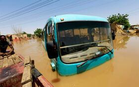(تصاویر) سیل در خارطوم سودان