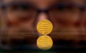 (تصاویر) سکه طلای مربوط به حکومت امیه در حراجی در انگلیس به قیمت یک میلیون و چهارصد هزار پوند فروخته شد