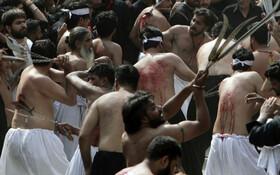 (تصاویر) عزارداری محرم در لاهور پاکستان
