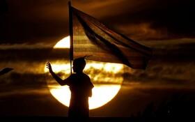 (تصاویر) مراسم یازده سپتامبر در کانزاس آمریکا