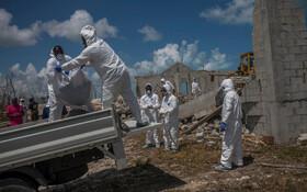 (تصاویر) بازیابی اجساد کشته شدگان در توفان دورین در باهاماس