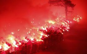 (تصاویر) مسابقافینال فوتبال میان تیم اینترناسیونال و آتلیکوپرانانس در پرتوآلگر در برزیل