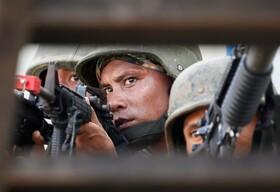 (تصاویر) مانور نظامی در فلیپین