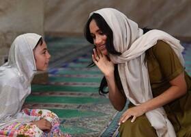 (تصاویر) دیدار همسر ولیعهد انگلیس از مسجدی در کیپتاون در آفریقای جنوبی