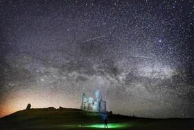 (تصاویر) نمایی از کهکشان راه شیری و آسمان پرستاره