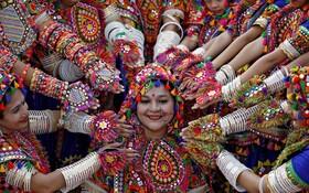 (تصاویر) جشنواره مذهبی در هند