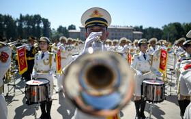 (تصاویر) رژه نیروهای نظامی در هفتادمین سالگرد تشکیل چین کمومنیست