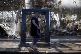 (تصاویر) تخریب مناطق تجاری و مسکونی در دالاس آمریکا در اثر گردباد