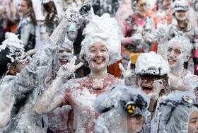 (تصاویر) جشن آغاز سال تحصیلی در اسکاتلند