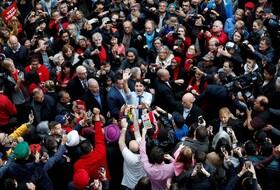 (تصاویر) جشن پیروزی جاستین ترودو در انتخابات مجلس کانادا در ونکور و تشکیل مجدد دولت