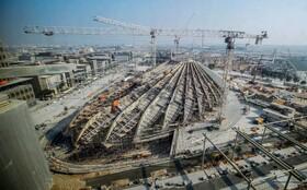 (تصاویر) ساخت مرکز نمایگاه صنعتی تجاری 2020 دوبی