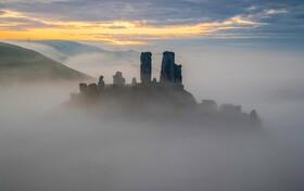 (تصاویر) قلعه قدیمی کرف در دورست در انگلیس