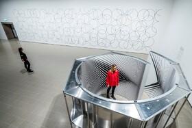 (تصاویر) نمایشگاهی از آثار هنری هنرمند انگلیسی بریژیت رایلی