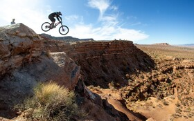 (تصاویر) مسابقات جهانی دوچرخه سواری در کوهستان.
