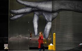 (تصاویر) نقاشی دیواری در منهتن نیویورک