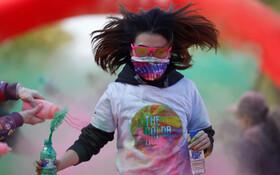 (تصاویر) مسابقه دو رنگی در پکن چین