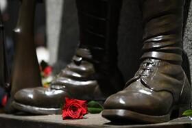 (تصاویر) مراسم سالگرد جنگ جهانی دوم در سیدنی استرالیا