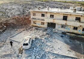 (تصاویر) نمایی از بیمارستان تخریب شده در ادلیب سوریه