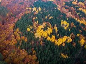 (تصاویر) نمایی پاییزی از منطقه کوتاهیه در ترکیه