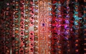 (تصاویر) مراسم مذهبی هندوها در داکا مرکز بنگلادش