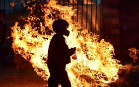 (تصاویر) تظاهرات حامیان اوومورالس رئیس جمهوری مستعفی بولیوی در این کشور