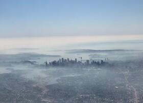 (تصاویر) دود ناشی از آتش سوزی جنگل ها بر فراز سیدنی استرالیا