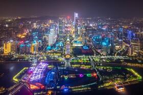 (تصاویر) جشنواره نور در گوانگزو چین