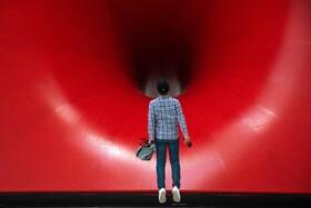 (تصاویر) نمایشگاه آثار آنیش کاپور در پکن چین