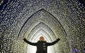 (تصاویر)تزئینات سال نو میلادی در انگلیس