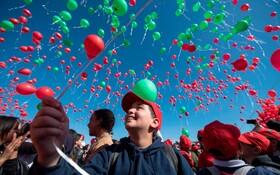 (تصاویر) روز جهانی کودک در مراکش
