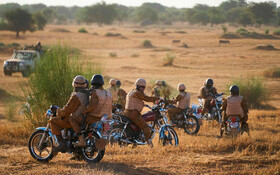 (تصاویر) گشت نیروهای بورکینافاسو در مناطق جنوبی این کشور همراه نیروهای فرانسوی