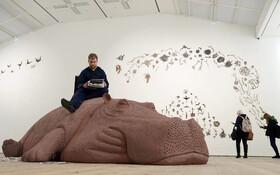 (تصاویر) نمایشگاه هنری در انگلیس