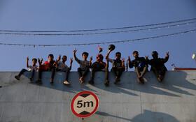 (تصاویر) تظاهرات در بغداد