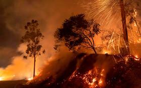 (تصاویر) ادامه آتش سوزی در کالیفرنیای آمریکا