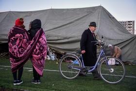 (تصاویر)بی خانمانی زلزله زدگان در آلبانی