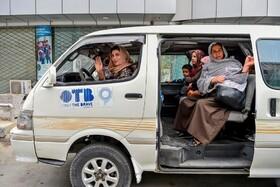 (تصاویر) صدور اجازه مسافرکشی زنان در افغانستان