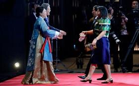(تصاویر) دیدار روسای جمهوری کره جنوبی و فیلیپین به همراه همسرانشان در حاشیه اجلاس آسه آن در سئول کره جنوبی